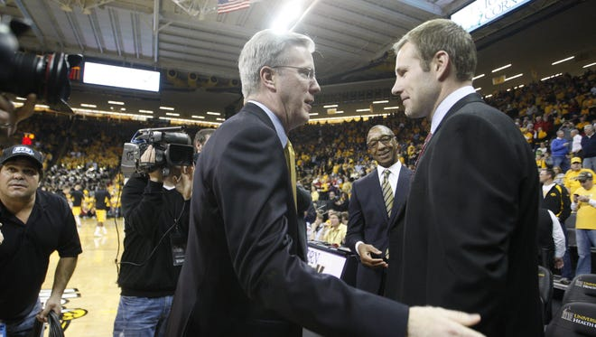 Fran McCaffery and Fred Hoiberg