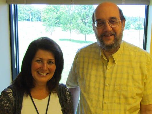 Deb Danko and Dr. Garbo