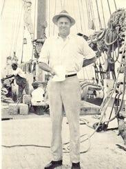 "William ""Bill"" McCoy in the 1930s."