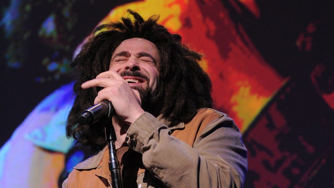 Counting Crows will perform at Klipsch Music Center with Matchbox 20, Sept. 24, 2017.