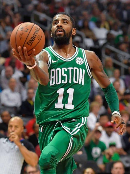 NBA MVP rankings: Boston Celtics' Kyrie Irving joins top five