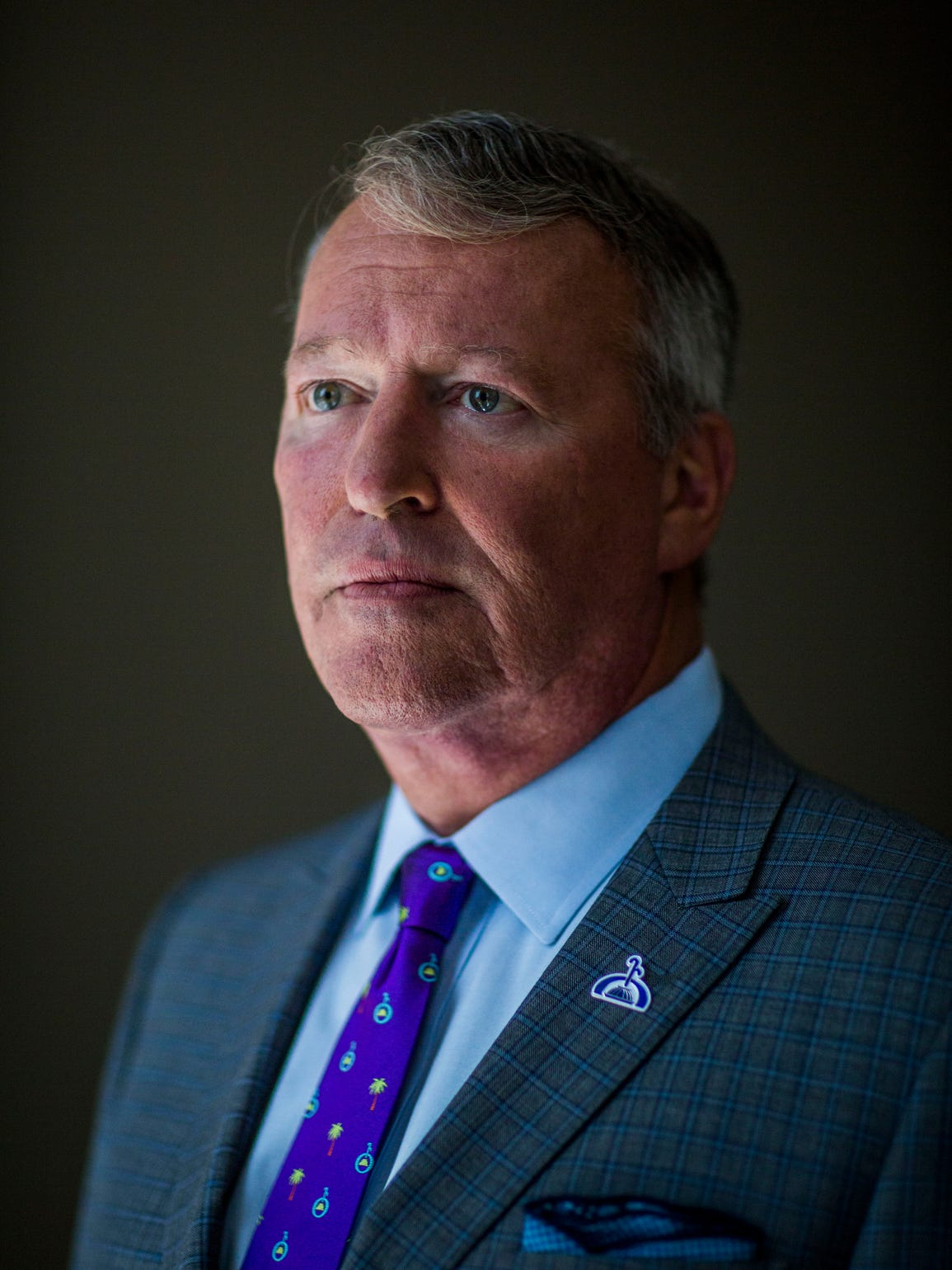 Mayor Buddy Dyer is photographed in his office in Orlando,
