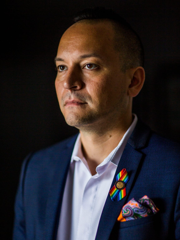 Representative Carlos Guillermo Smith is photographed