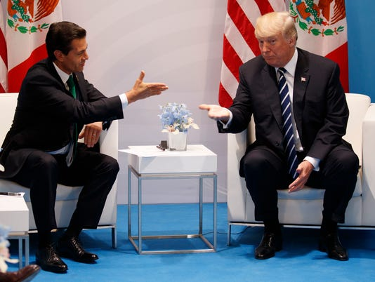 Donald Trump, Enrique Pena Nieto