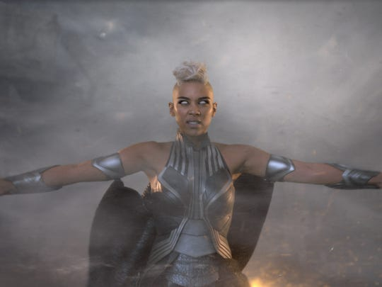 Storm (Alexandra Shipp) is a primal force of nature