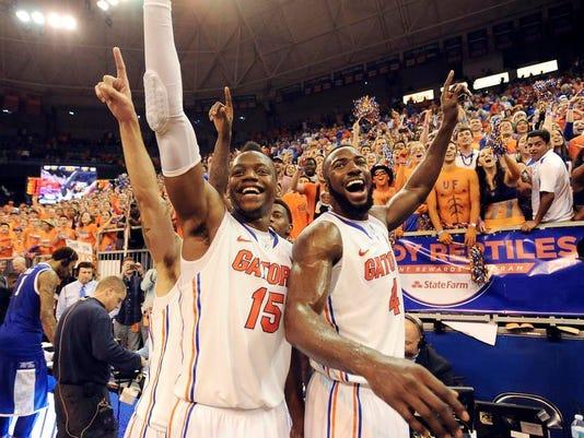 APTOPIX Kentucky Florida Basketball