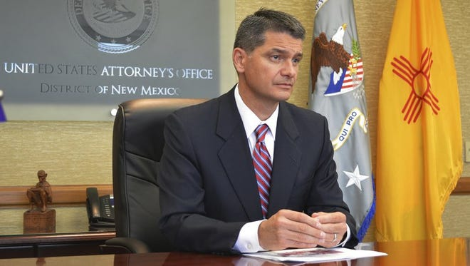 U.S. Attorney Damon Martinez