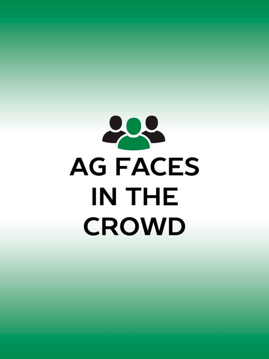 Ag faces in the crowd