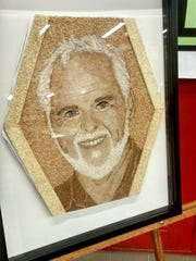 The floragraph of Gary Terreault from Flat Rock which will be displayed on the Donate Life float at the Rose Parade in Pasadena, Calif., on Jan. 2, 2017.
