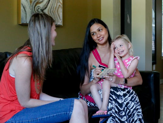 Mother starts a website to match parents with child sitters for special needs children