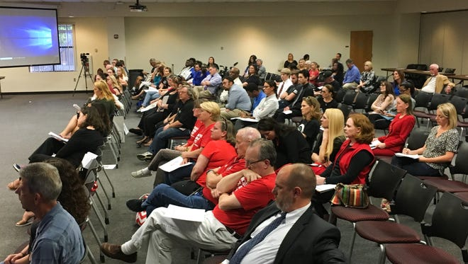 The Brevard County school board on Tuesday discussed funding for additional school resource officers.