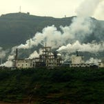 Textile mills in third-world countries are significant polluters.