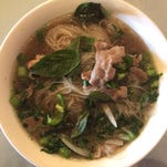 A mild (too mild) case of pho at SF Kitchen