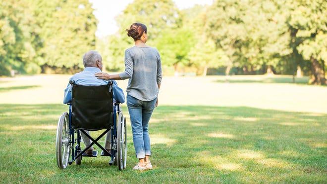 November is national caregivers month.
