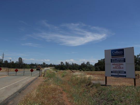 The Stillwater Business Park is still unoccupied by
