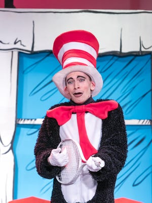 """The Growing Stage – The Children's Theatre of New Jersey will open its 2017-2018 season with """"Beauty and the Beast"""" in October.  The Netcong-based theater, which features Equity performers as well as nonprofessional actors, specializes in family-friendly plays and musicals, such as its spring 2017 production of """"The Cat in the Hat,"""" played by Davis Cameron Lemley."""