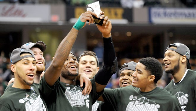 MSU is looking to defend its Big Ten tournament title this week in Chicago
