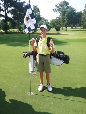Local junior golfer Drew Smith had his second hole-in-one at Montgomery Country Club on Father's Day.