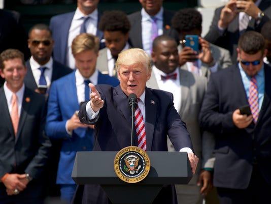 NCAA Football: Clemson-White House Visit