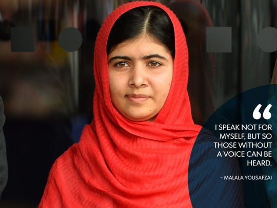 Malala Yousafzai, 17, is the youngest-ever Nobel winner.