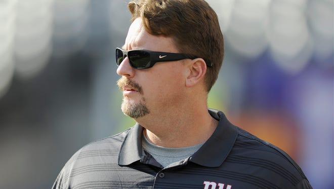 New Giants offensive coordinator Ben McAdoo says the offense is still finding its footing but is where it should be at this point in the preseason.