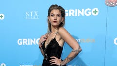 Paris Jackson who plays Nelly in the movie, donned