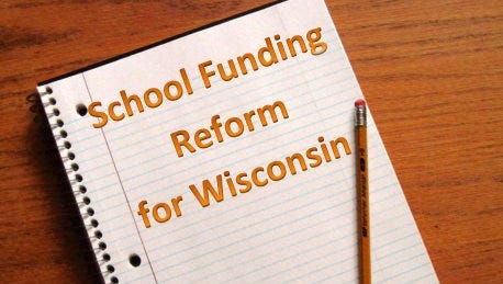 "School Funding Reform for Wisconsin is one of the sponsors of the showing of the documentary ""Education, Inc."""