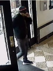 Nutley police are seeking a suspect that allegedly took packages about March 13, 2018, from a Park Avenue residential building.