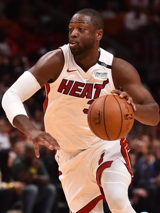 USP NBA: TORONTO RAPTORS AT MIAMI HEAT S BKN MIA TOR USA FL