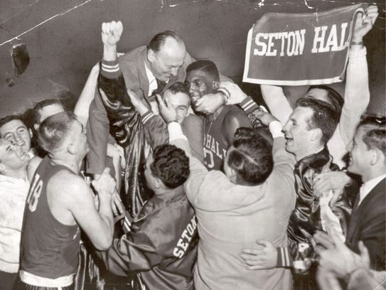 After Seton Hall won the 1953 NIT final over St. John's,