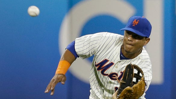New York Mets center fielder Juan Lagares is one of