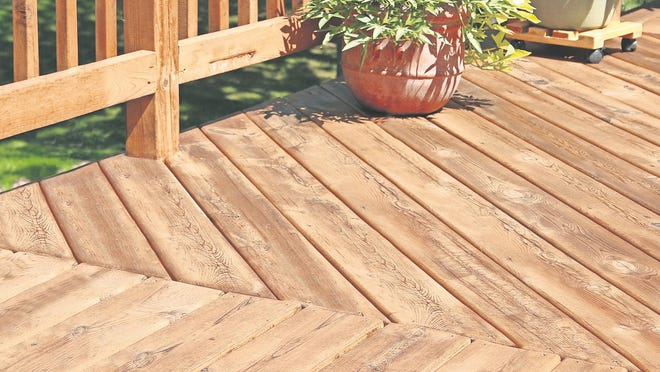 Deck repair can be easy and affordable.