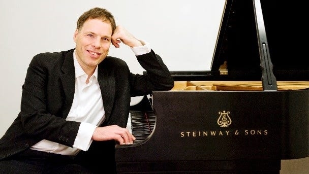 Israeli pianist Alon Goldstein will perform during the El Paso Symphony Orchestra's season finale April 21 and 22 at the Plaza Theatre.