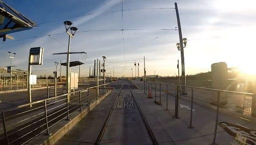 TriMet Max train successfully tests Tilikum Crossing bridge