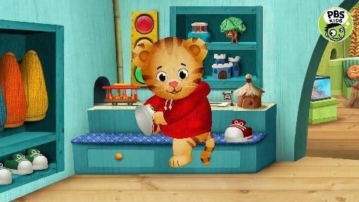 """""""Daniel Tiger's Neighborhood"""" is among the PBS Kids programs that will be available through new 24-hour service."""