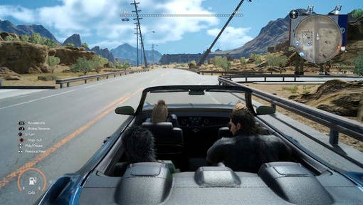 """This image released by Square Enix shows a scene from """"Final Fantasy XV."""""""