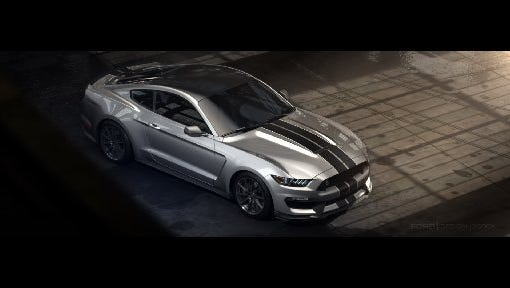 500-hp 2016 Shelby GT350 Mustang