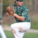 Howell pitcher Austin Palo threw a one-hitter for the Highlanders on senior day. His efforts were rewarded when the Highlanders won it in the bottom of the seventh.