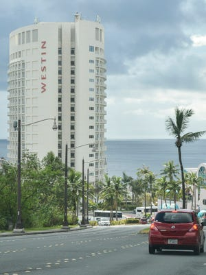 The Westin Resort Guam is pictured on a cloudy day in Tumon.