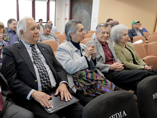 MACI members, former Congressman Silvestre Reyes, Corinne