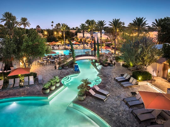 The Litchfield Park resort is family central from Memorial Day through Labor Day, with nonstop activities at the pool, food and drink specials and golf galore.