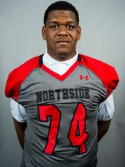 Northside offensive lineman O'Shea Dugas is considered one of Louisiana Tech's top signees.