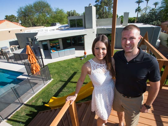 Anne and David Bernath bought their north-central Phoenix