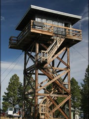 Fivemile Butte Lookout.