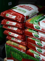 Fertilizer by the box and the bagful is available at local home improvement stores.