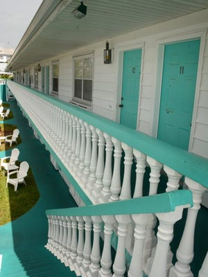 The Boathouse Motel offers lodging unique on Marco Island, with boat docks attached to the property. Lance Shearer/Eagle Correspondent