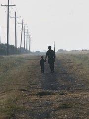 DAVID SIKES/CALLER-TIMES The opening of dove season marks the unofficial beginning of the hunting season and represents a gateway that invites youngsters to engage in a rich heritage.
