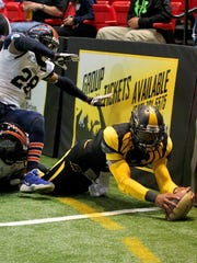 Wichita Falls Nighthawks quarterback Charles McCullum was the Indoor Football League MVP last season and is looking to have a strong 2017 season.