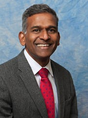 "Dr. Yogesh Shah of Broadlawns Medical Center is one of six storytellers who will take the stage July 13 for the Des Moines Storytellers Project's ""Tales from the Road."""