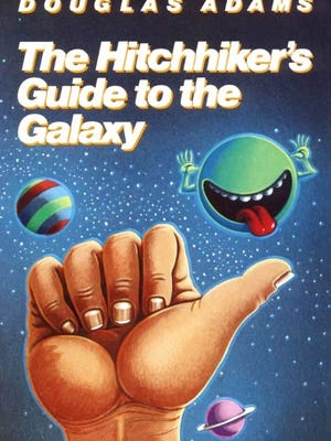 """Teens will talk about, """"The Hitchhiker's Guide to the Galaxy,"""" by Douglas Adams at 6:30 p.m. Wednesday, Nov. 15, at the Fond du Lac Public Library's Pizza & Pages book club. Free. No registration required."""